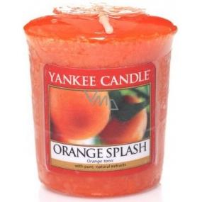 Yankee Candle Orange Splash - Pomerančová šťáva vonná svíčka votivní 49 g