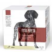 Pet Health Care Fytopipeta Repelentní pipeta pes od 20 kg 6 x 10 ml SLEVA zár.01/2019