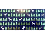 Albi Prianie do obálky So sobmi a stromčeky 9 x 19 cm