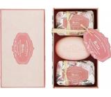 Castelbel Růže toaletní mýdlo 3 x 150 g, kosmetická sada