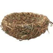 Hnízdo přírodní z trávy 20 cm 1 kus