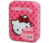 Hello Kitty Náplasti 20 kusů 4 druhy v kovové krabičce