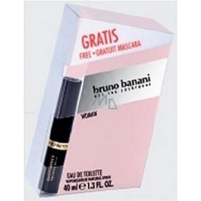Bruno Banani Woman toaletní voda 40 ml + Max Factor Masterpiece Mascara řasenka černá 5,3 ml dárková sada