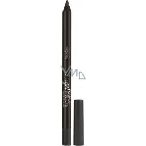 Deborah Milano 2in1 Gel Kajal & Eyeliner Waterproof tužka na oči 02 Grey 1,5 g