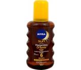 Nivea Sun OF6 Olej na opalování sprej 200 ml