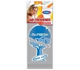 Mister Fresh Car Parfume osvěžovač vzduchu závěsný New Car 1 kus