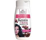 Bione Cosmetics Keratin & Kofein regenerační kondicionér na vlasy 250 ml