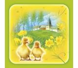 Ditipo Velikonoční papírové ubrousky Káčátka 3 vrstvé 33 x 33 cm 20 kusů