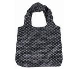 Albi Taška do kabelky Černobílá puntíky 42 × 36 cm
