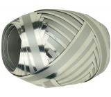 Nekupto Klubíčko Luxus stříbrné s lesklým páskem 1 cm x 10 m KB 109 02