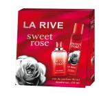 La Rive Sweet Rose parfémovaná voda pro ženy 90 ml + deodorant sprej 150 ml, dárková sada
