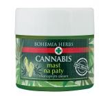 Bohemia Gifts & Cosmetics Cannabis konopná mast na suchou, ztvrdlou, popraskanou pokožku 120 ml