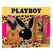 Playboy Play It Wild for Her toaletní voda pro ženy 40 ml + deodorant sprej 150 ml, dárková sada