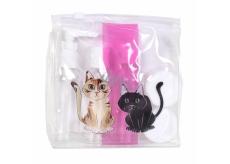 Albi Original Cestovní sada lahviček Kočka 15 cm x 15 cm x 4,5 cm
