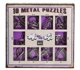 Albi Sada 10 kovových hlavolamů fialová, věk 7+