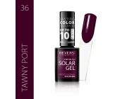 Revers Solar Gel gelový lak na nehty 36 Tawny Port 12 ml
