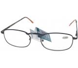 Berkeley Čtecí dioptrické brýle +3,0 hnědé kov 1 kus MC2005