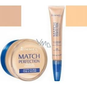 Rimmel London Match Perfection krémový make-up 103 18 ml + korektor 7 ml