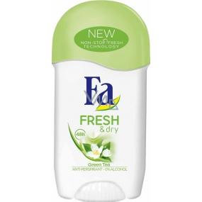 Fa Fresh & Dry Green Tea antiperspirant deodorant stick pro ženy 50 ml