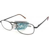 Berkeley Čtecí dioptrické brýle +3,50 hnědé kov CB02 1 kus MC2005