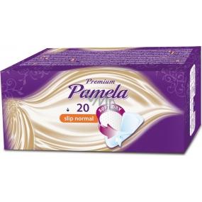 Pamela Premium Slip Normal Soft Dry intimní vložky 20 kusů