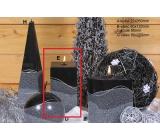 Lima Artic svíčka šedá hranol 65 x 150 mm 1 kus