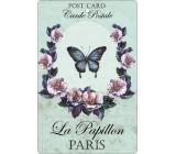 Bohemia Motýl aromatická vonná karta 10,5 x 16 cm