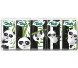 Tento Kids Panda hygienické kapesníky z čisté celulózy 3 vrstvé 10 x 10 kusů