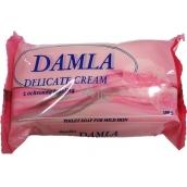 Damla Delicate Cream krémové toaletní mýdlo s lanolinem 100 g