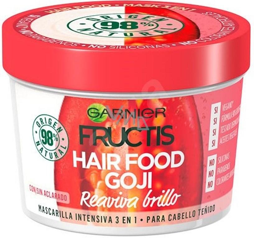 Garnier Fructis Goji Hair Food maska navracející lesk barveným vlasům 390 ml 98f273d05d4