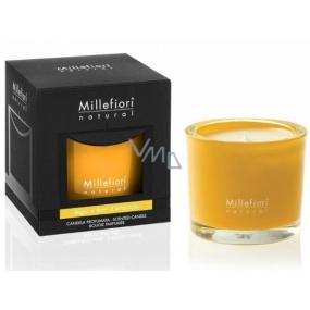 Millefiori Milano Natural Legni e Fiori d'Arancio - Dřevo a pomerančové květy Vonná svíčka 180 g