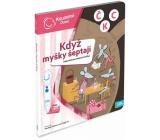 Albi Kouzelné čtení interaktivní mluvící kniha Když myšky šeptají, věk 3+