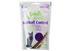 Canvit Hairball Control Kuřecí pamlsek měkký doplňkové krmivo pro kočky 100 g