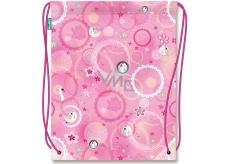 Nekupto Miss Cool Sportovní taška Labuť Oslnivá kráska 41 x 33,5 cm