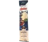 Marvel Avengers MilkiMix mléčné brčko směs pro přípravu nápoje s příchutí kokosu 5 brček po 30 g