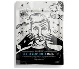 Barber Pro Pleťová textilní maska pro muže 23 ml