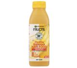 Garnier Fructis Nourishing Banana Hair Food vyživující šampon pro suché vlasy 350 ml