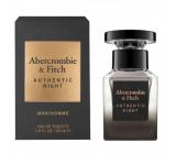 Abercrombie & Fitch Authentic Night Man toaletní voda pro muže 30 ml