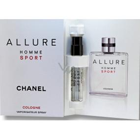 Chanel Allure Homme Sport Cologne kolínská voda 1,5 ml s rozprašovačem, vialka