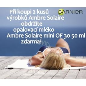 DÁREK Garnier Ambre Solaire OF30 opalovací krém mini 50 ml