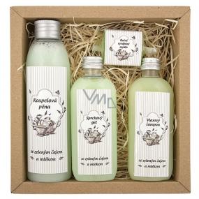Bohemia Tea Spa koupelová pěna 200 ml + sprchový gel 100 ml + vlasový šampon 100 ml + ručně vyráběné mýdlo 30 g, kosmetická sada