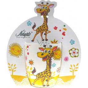 Nekupto Hrnek dětský Žirafa 0,25 l, 002