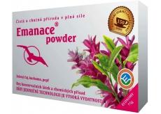 Phoenix Division Emanace powder zelený čaj, kurkuma, pepř 75 g