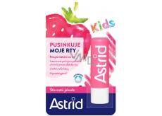 Astrid Kids Šťavnatá jahoda pečující balzám na rty 4,8 g