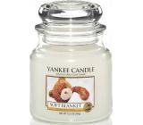 Yankee Candle Soft Blanket - Jemná přikrývka vonná svíčka Classic střední sklo 411 g