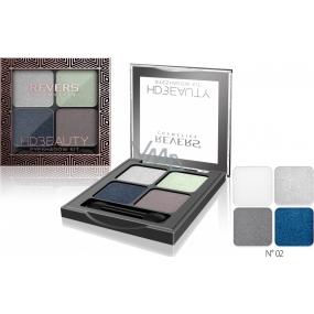 Revers HD Beauty Eyeshadow Kit paletka očních stínů 02 4 g