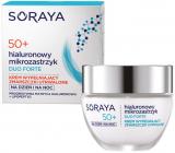 Soraya Hyaluronic Micro-Injection Duo Forte 50+ krém proti vráskám vyplňující trvalé vrásky na den/noc 50 ml
