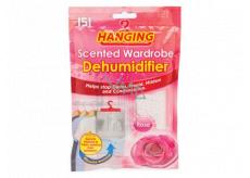 151 Hanging Růže Odstraňovač vlhkosti do šatny s vůní 180 g