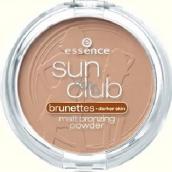 Essence Sun Club Blondes matující bronzový pudr 02 Sunny 15 g