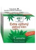 Bione Cosmetics Bio Cannabis s peptidy Extra výživný pleťový krém 51 ml